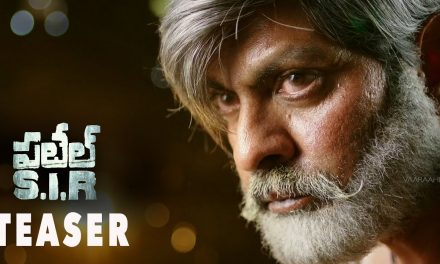 Jagapathi Babu plays as hero in Patel S.I.R