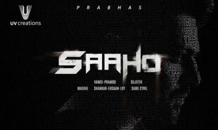First Look: Prabhas19 Title Logo- Saaho