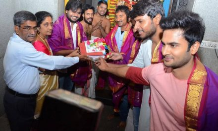 Sudheer Babu's first look from his next to be released by Mahesh!