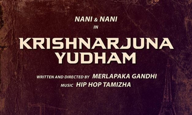 Nani – Gandhi's film gets it title