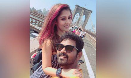 Nayanthara and Vignesh Sivan in New York