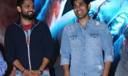 Allu Sirish special guest at Kannada movie Tagaru trailer release