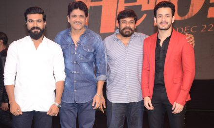 Hello Pre release Event Final Main Groups and Akhil