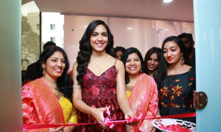 Actress Ritu ​​Varma ​​Inaugurates ​​Glam​ ​Studios Unisex ​​Salon ​​at ​​Nizampet