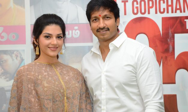 Pantham starts the climax shoot