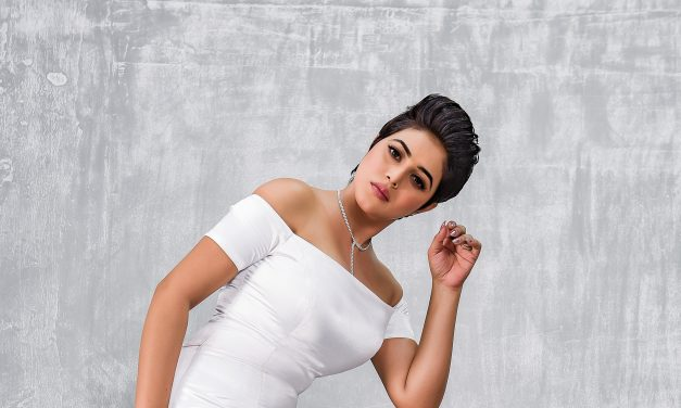 Actress Poorna special song in 'Adhugo'