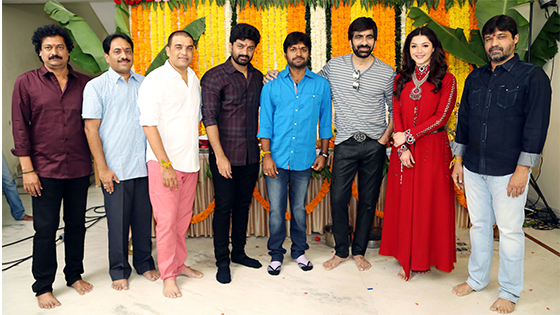 Raja The Great Movie Launched