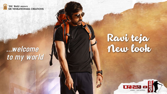 Ravi Teja in a Brand New Look!
