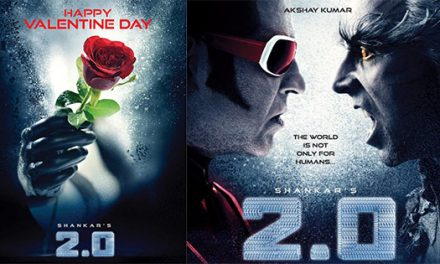 Shankar's 2.0 is made on budget of 450 crore?