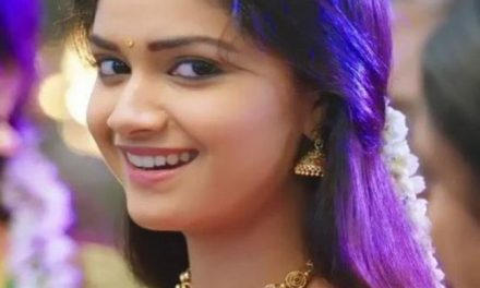 Keerthy Suresh plays love interest of Vikram!