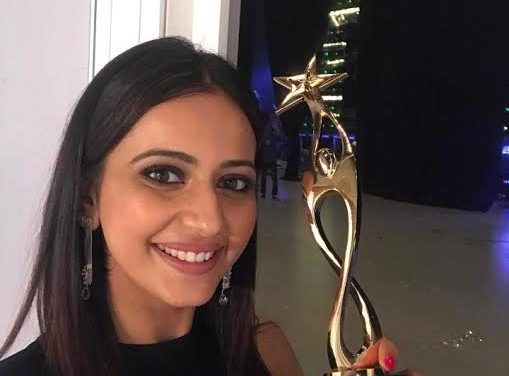 Rakul Preet Singh excited with her first Best Actress award