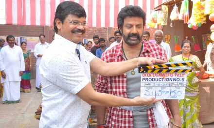 Balakrishna-KS Ravikumar's film launched at RFC
