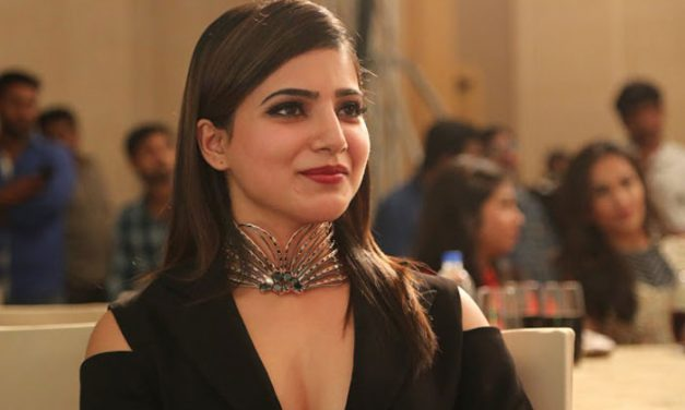Samantha opulent praises on 'Arjun Reddy'