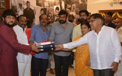 Chiru's 151st film pooja held today