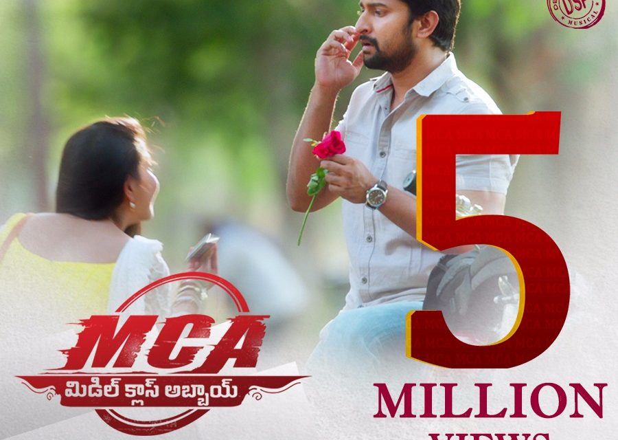 Nani & Sai Pallavi's 'MCA' teaser crossed 5 Million views