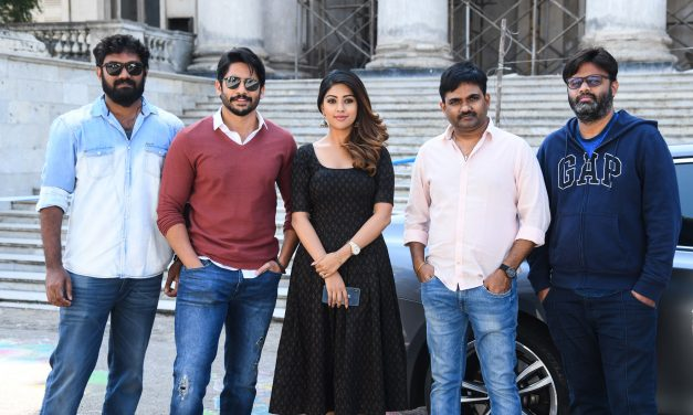 Sithara Entertainments Production no 3 Shooting Started.