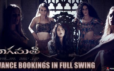 Massive Advance Bookings For Bhaagamathie