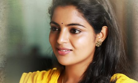 Here is the first look of Nikhila Vimal from 'Gayatri'