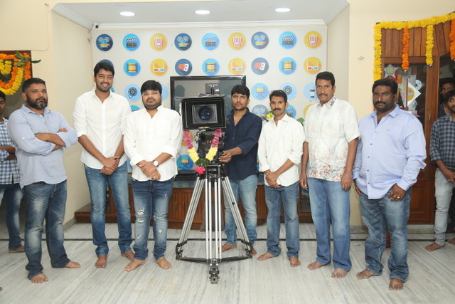 Allari Naresh's 55th movie launched today