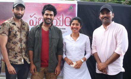 Sharwanand and Sai Pallavi launch the second song of 'Parichayam'