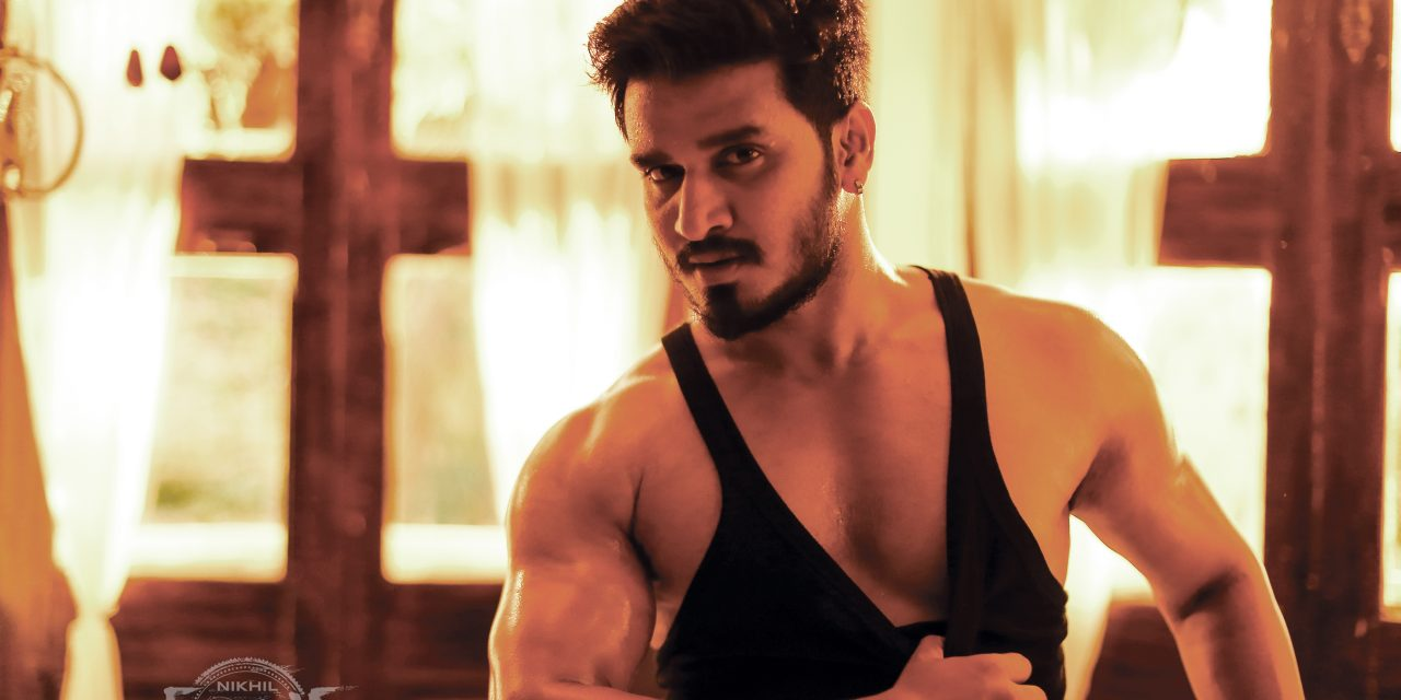 Nikhil's 'MUDRA' climax shoot and dubbing works going on simultaneously