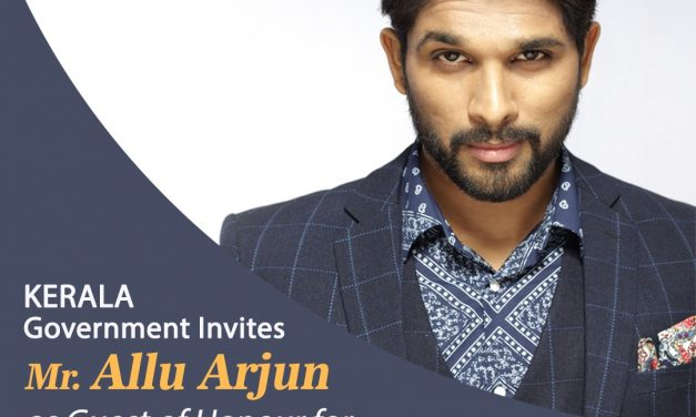 Kerala CM invited (M)Allu Arjun as a Guest of  Honor to a prestigious event.