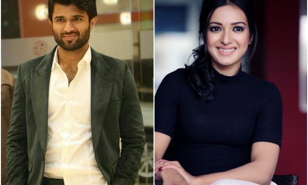Catherine Tresa in Vijay Deverakonda, Kranthi Madhav and Creative Commercials Production No 46